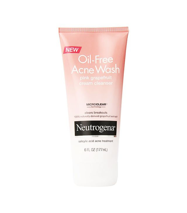 Neutrogena Oil-Free Acne Wash Pink Grapefruit Cream Cleanser