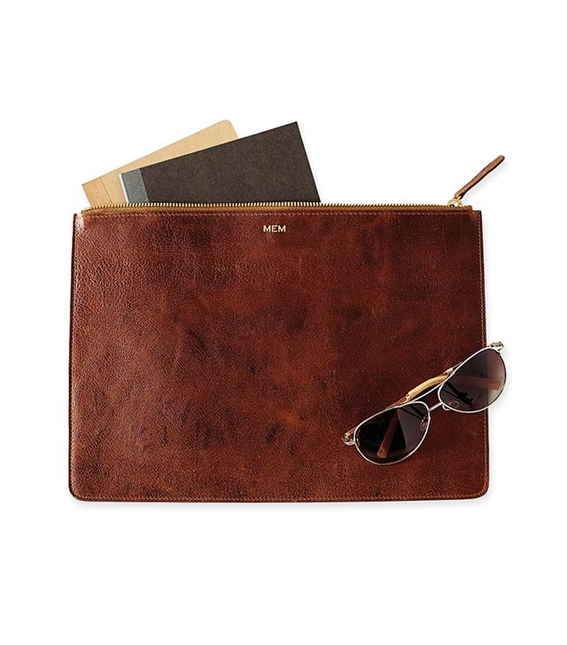 Mark & Graham Gentlemen's Pigskin Zip Folio