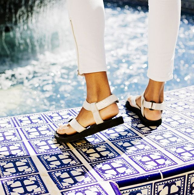 Teva Original Universal Leather Diamond Sandals