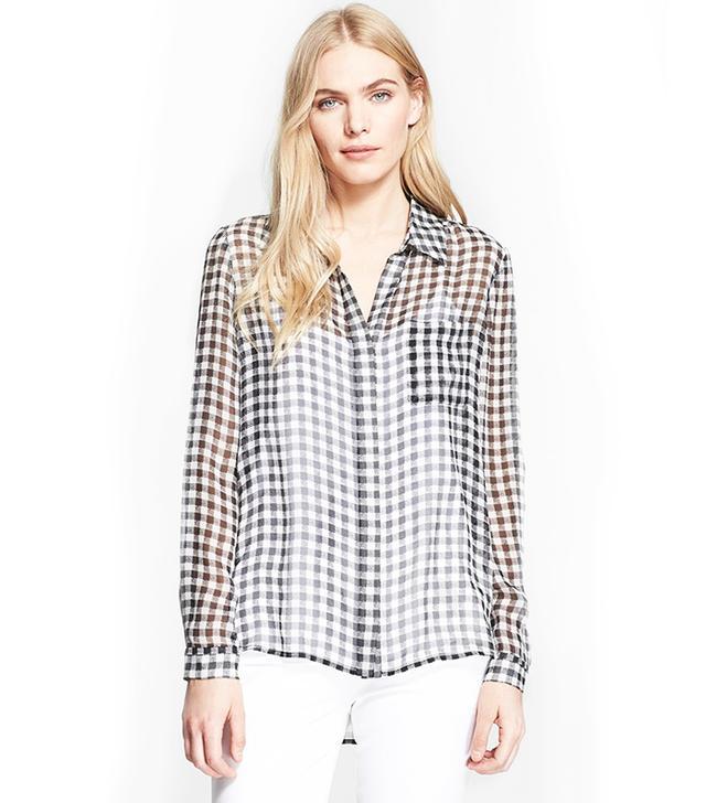 Diane von Furstenberg Lorelai 2 Print Silk Shirt