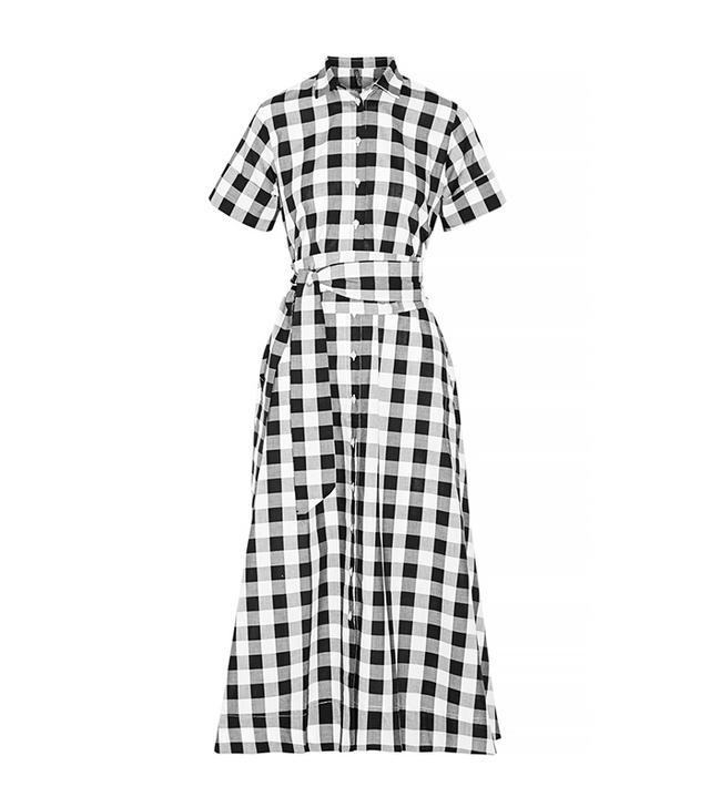 Lisa Marie Fernandez Gingham Cotton Shirtdress