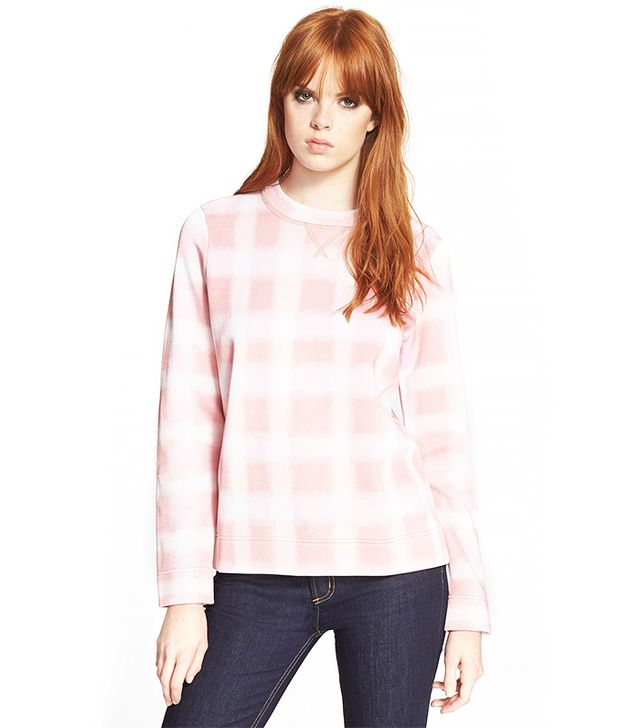 Marc by Marc Jacobs Blurred Gingham Sweater