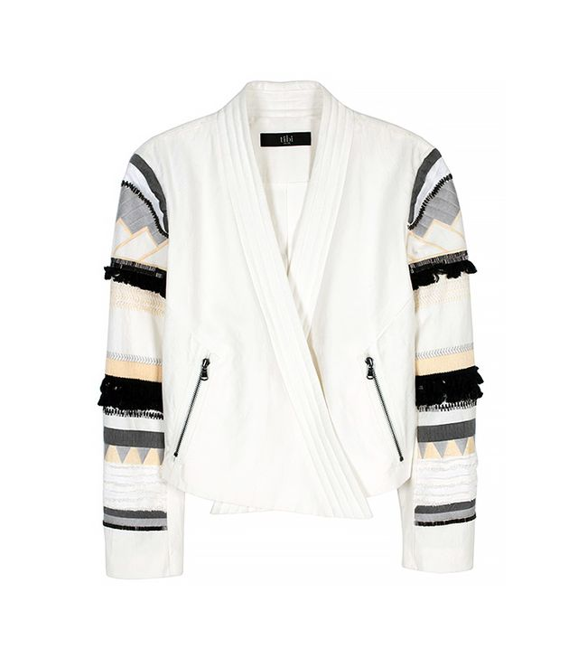 Tibi Arty Thread Embroidered Jacket