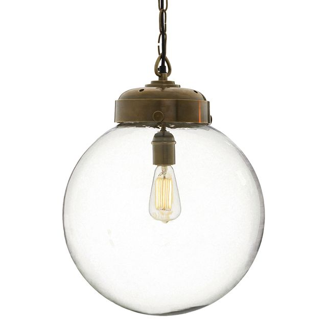 Arteriors Reeves Polished Nickel Pendant
