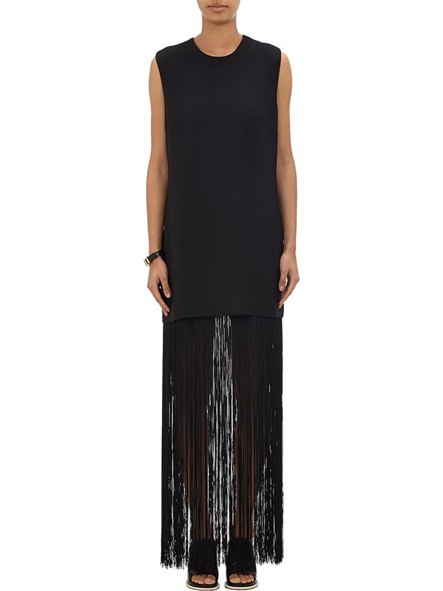 Nomia Sleeveless Fringe Dress