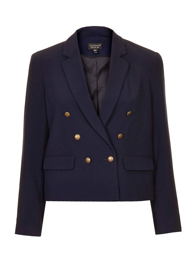 Topshop Preppy Cropped Jacket