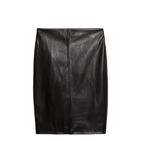 Vent Pencil Skirt