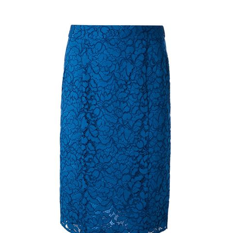 Sixty Lace Pencil Skirt