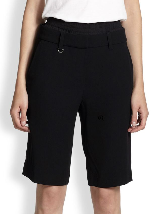 A.L.C. Bond Double-Waist City Shorts