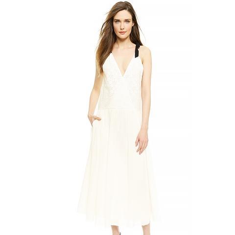 Gauze & Lace Dress