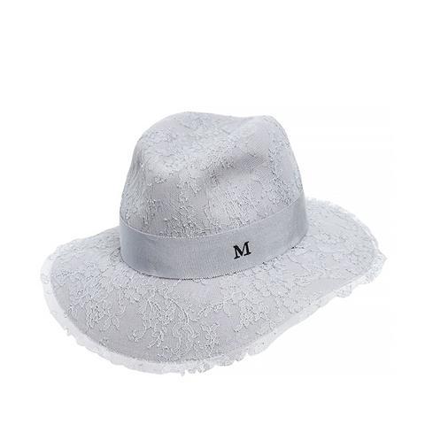 Henrietta Fur Felt Hat with Lace Overlay