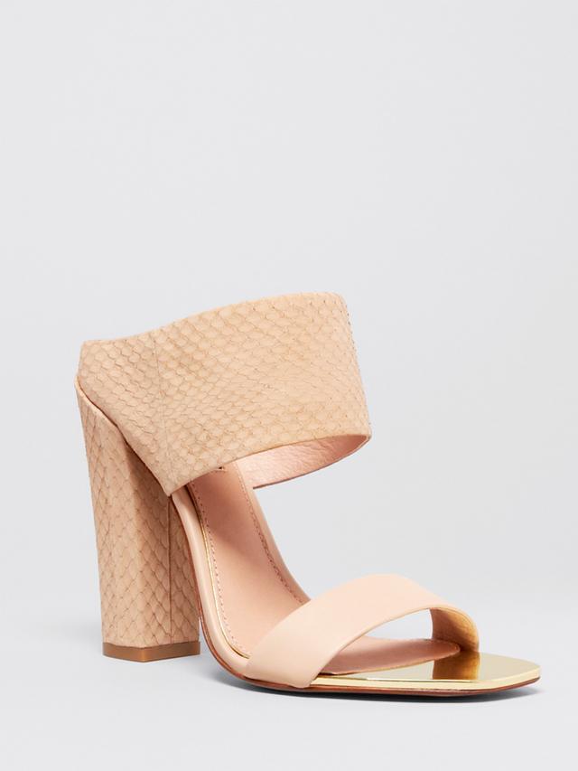 Rachel Zoe Open Toe Platform Slide Mule Sandals