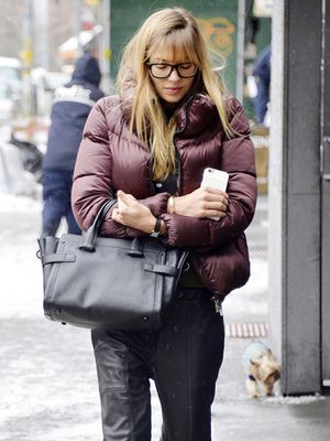 Love the Look: Jessica Hart's Rainy-Day Style