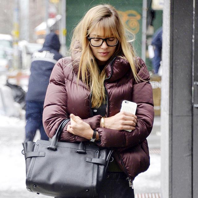 Love the Look: Jessica Hart's Rainy-Day Style