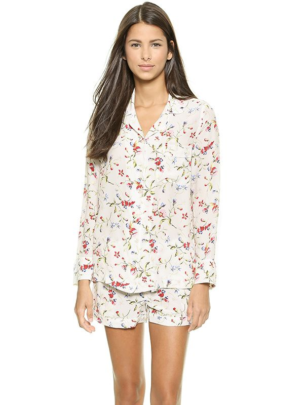 Equipment Lilian Silk Pajama Set