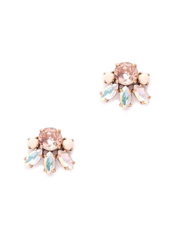 J.Crew Crystal Bud Earrings