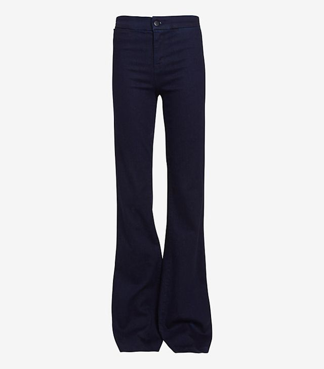 J Brand High Rise Inkwell Flare Jeans