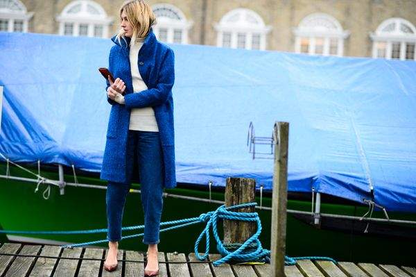 Camille Charriere in Ganni