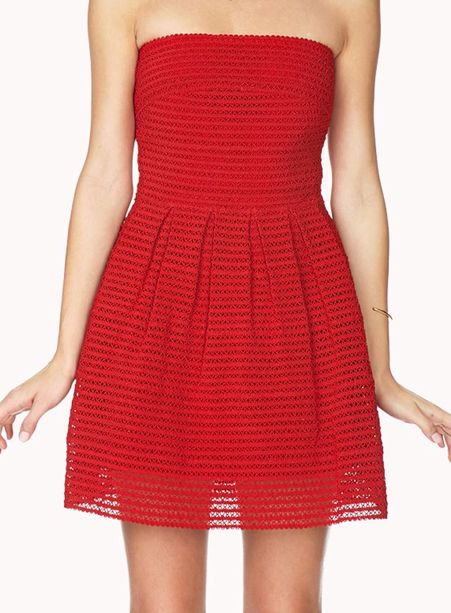 Forever 21 Standout Fit & Flare Dress