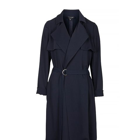 Waterfall Belted Duster Coat
