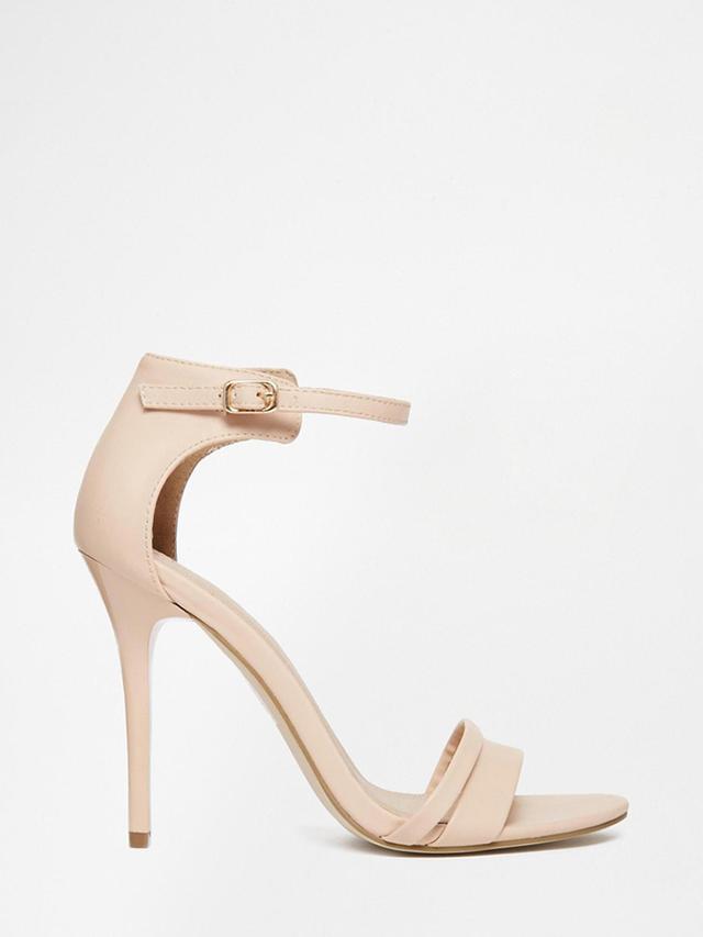 ASOS Hostess Wide Fit Heeled Sandals