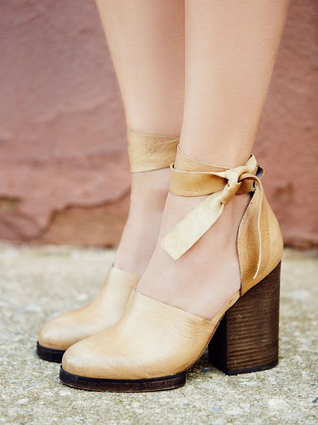 Free People Cora Wrap Heels