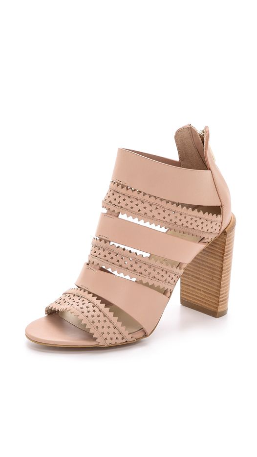 See by Chloe Star Perforated Sandals