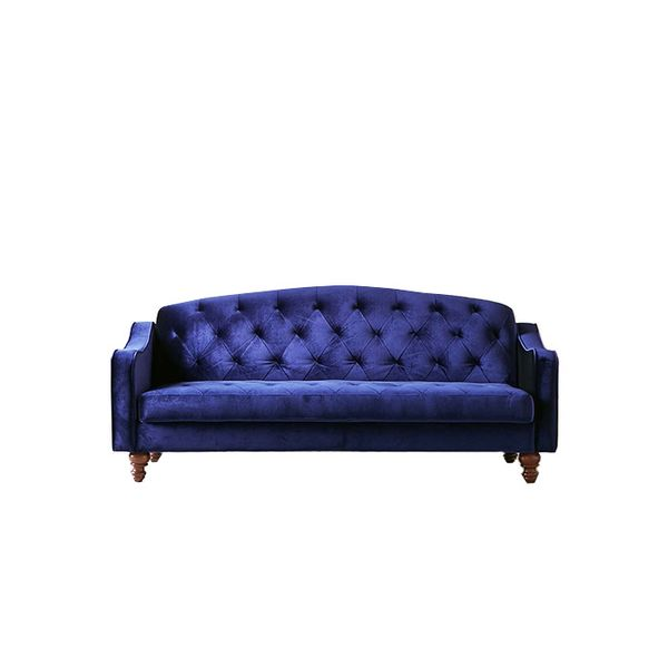 Urban Outfitters Ava Velvet Tufted Sleeper Sofa
