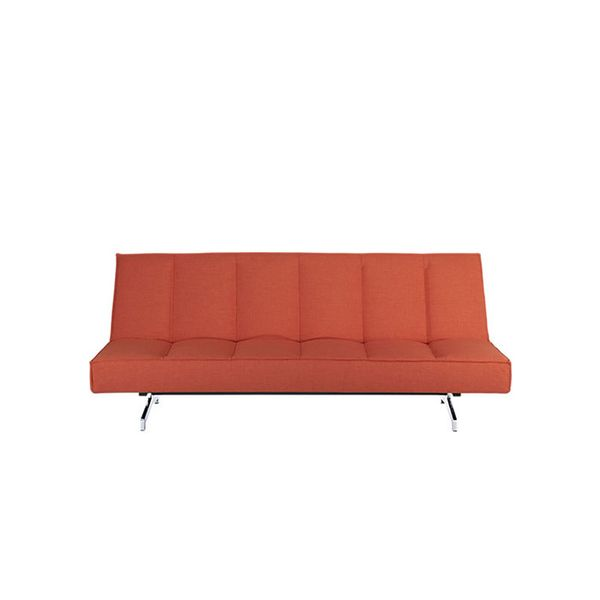 CB2 Flex Orange Sleeper Sofa
