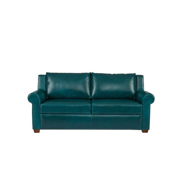 "onekingslane.com Ultra 72"" Sleeper Sofa, Teal"