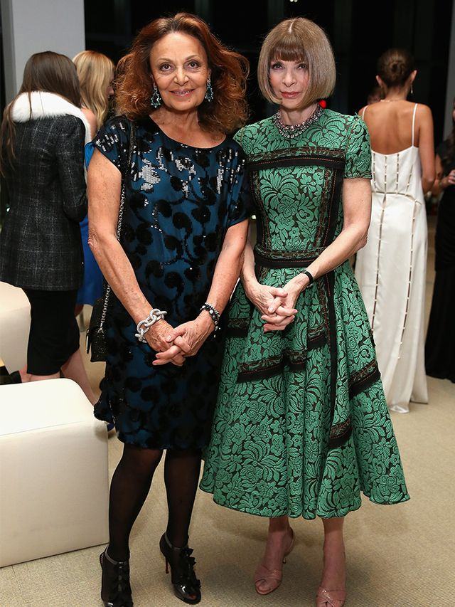 All Hail: DVF Tells the Fashion Industry What It Needs to Hear