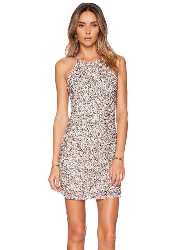 Parker Jaden Embellished Dress