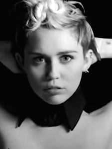 Miley Cyrus Enters Adult Film Festival with 'Tongue Tied' Video