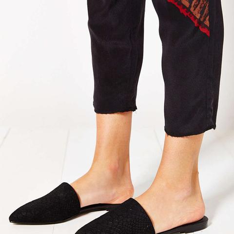 Pointy Toe Slides