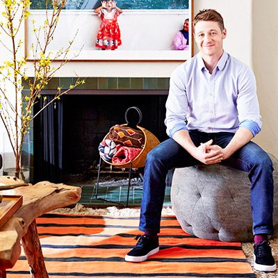 Home Tour: Ben McKenzie's Eclectic Hollywood Hills Home