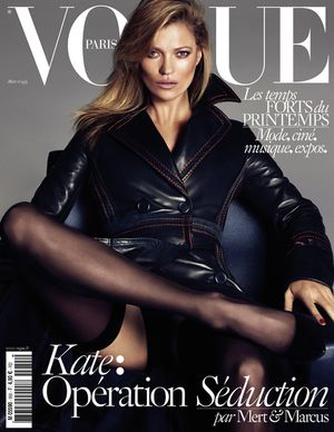 Kate Moss, Daria Werbowy & Lara Stone's Sexy Vogue Paris Covers