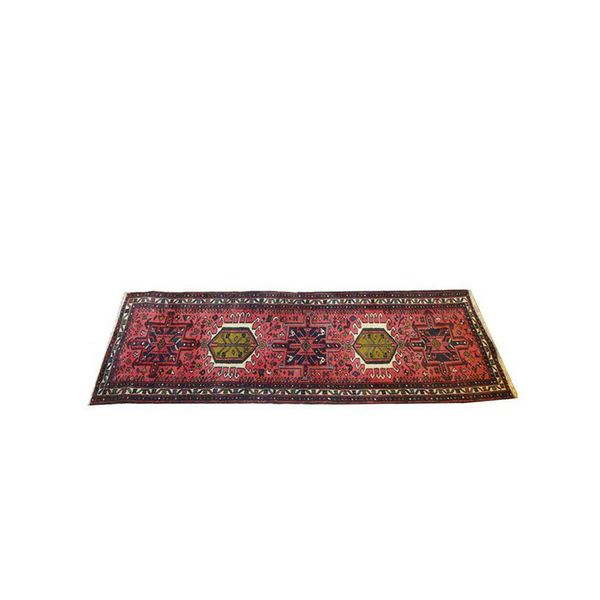 Chairish Persian Heriz Runner Rug