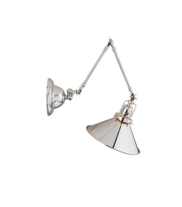 Rejuvenation Industrial Swing-Arm Wall Sconce