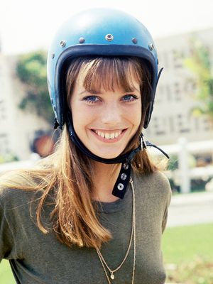 Safety First: Our Favourite Fashion Babes in Helmets