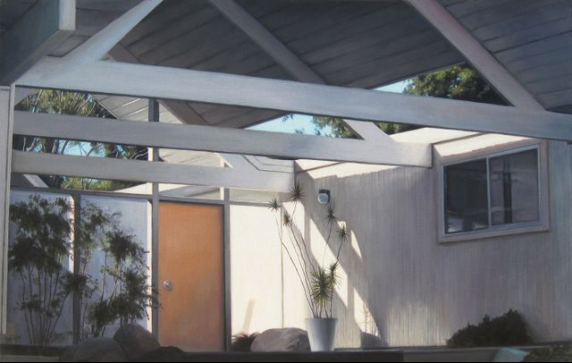 "by Danny Heller ""Eichler Carport Interior"""