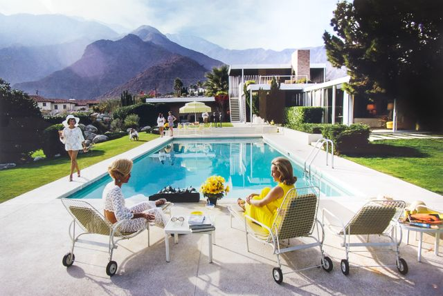 "by Slim Aarons ""Poolside Gossip"""