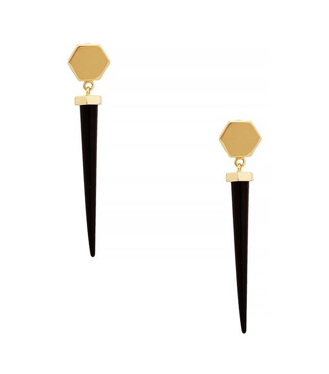Rachel Zoe Cleo Spike Drop Earrings