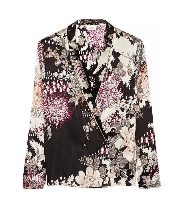 DAY Birger et Mikkelsen Night Flower Printed Satin Jacket