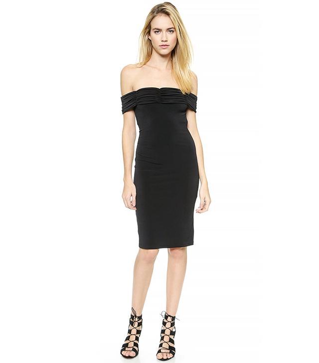 Rachel Zoe Off Shoulder Jersey Dress