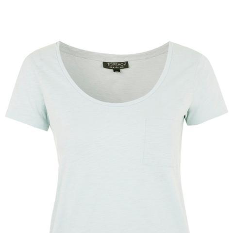 Slubby Cotton T-Shirt