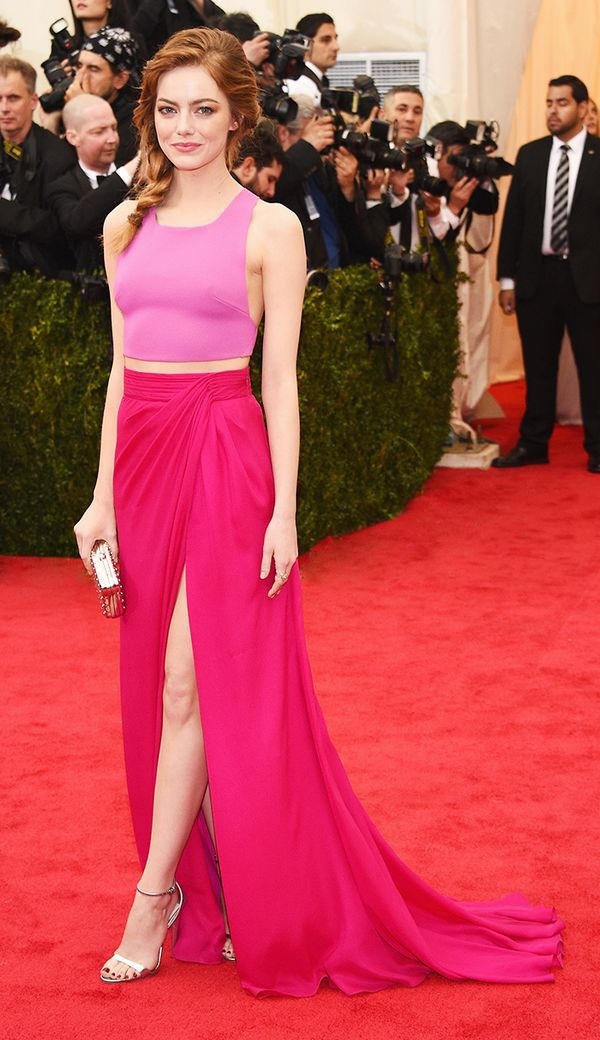 That time she was the prettiest girl in pink at the Met Gala: