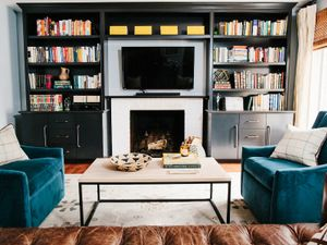 Before and After: A Bachelor's Living Room Gets a Stylish Upgrade
