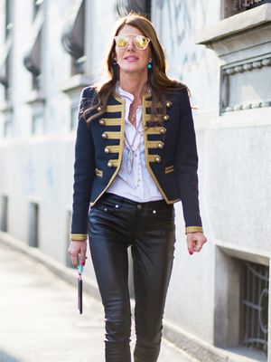 A Street Style Star's Take on the Band Jacket