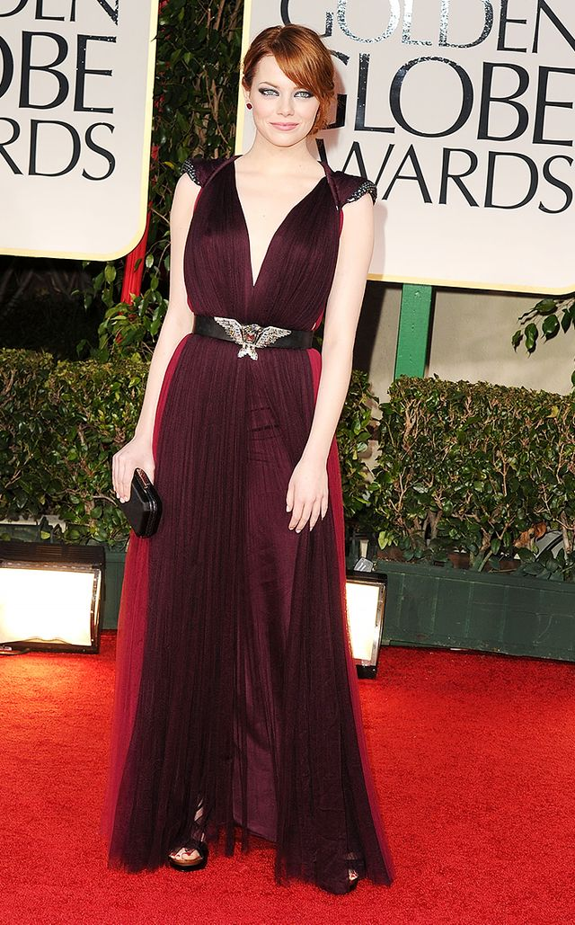Emma Stone's 19 Red Carpet Risks That Seriously Paid Off