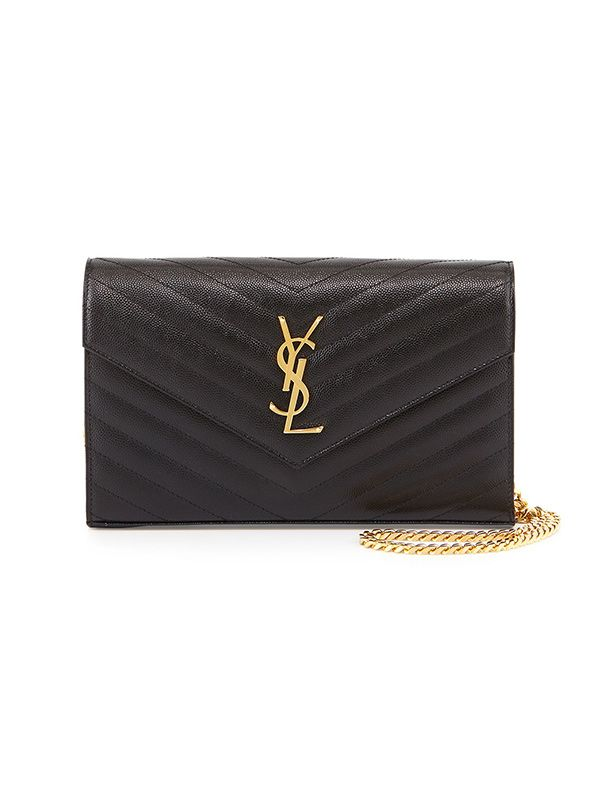 Saint Laurent Monogramme Matelasse Shoulder Bag